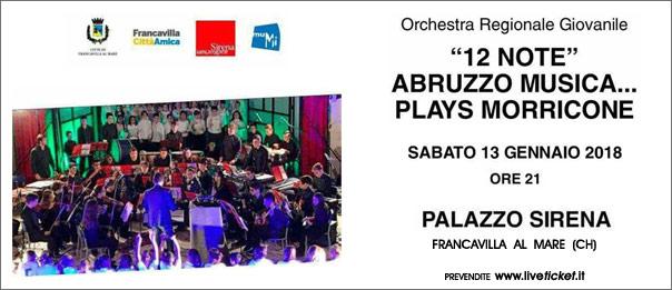 """""""12 note"""" Abruzzo musica...plays Morricone"""