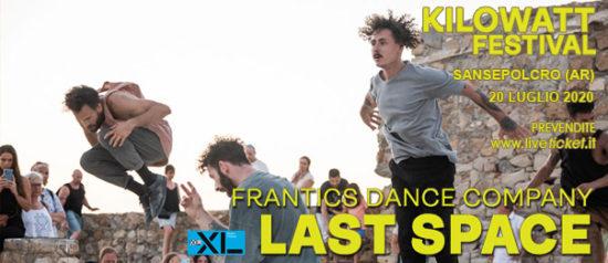 "Kilowatt Festival ""Last Space"" alla Piazza Torre di Berta a Sansepolcro"