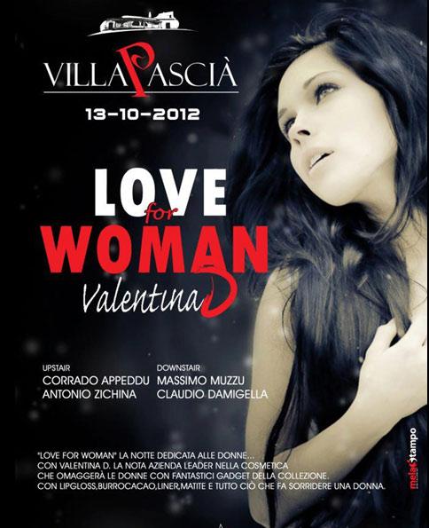 Love for woman al Villa Pascià