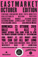 "East Market ""October Edition"" a Milano"