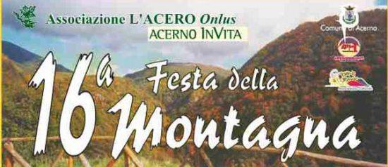 XVI festa della montagna ad Acerno