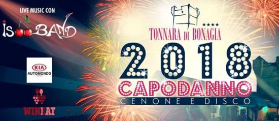 Capodanno 2018 al Tonnara di Bonagia Resort a Bonagia