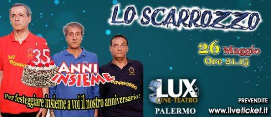 35 anni insieme al Cineteatro Lux di Palermo