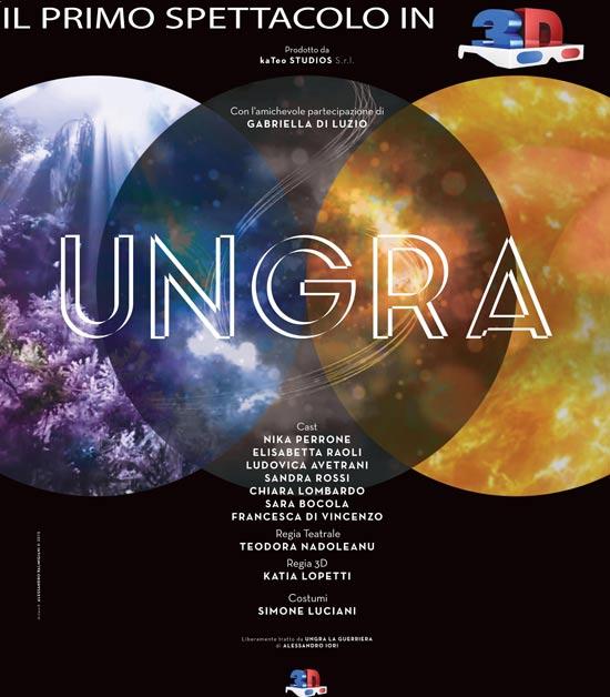 """""""Ungra"""" al Teatro Ambra Garbatella di Roma"""