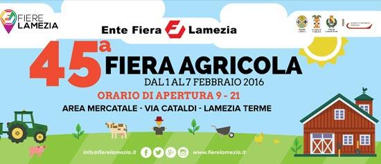45° edizione della Fiera Agricola di Lamezia Terme