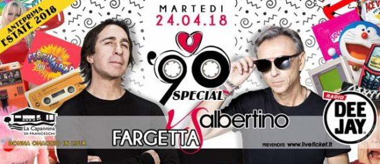 90 Special - Albertino vs Fargetta a La Capannina di Franceschi di Forte dei Marmi