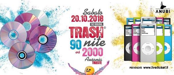 90 vs 2000 - Original Trash Nite is back all'Ausonia Beach Club di Trieste