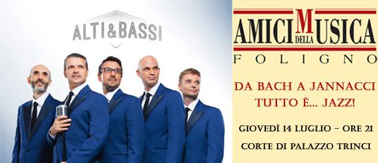 """""""Da Bach a Jannacci tutto è jazz"""" al Palazzo Trinci di Foligno"""
