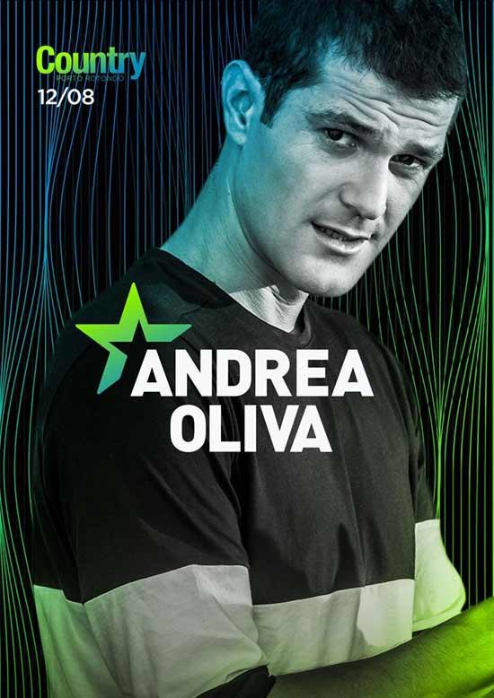 Andrea Oliva al Country Club a Porto Rotondo