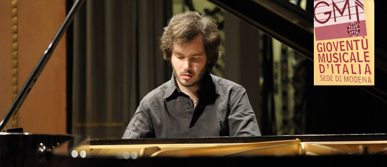 Antonii Baryshevskyi all' Auditorium Marco Biagi di Modena
