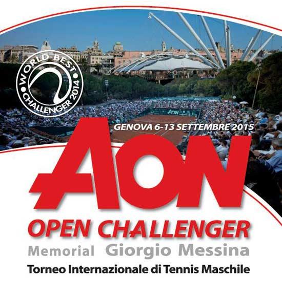 AON Open Challenger al Valletta Cambiaso Tennis Club a Genova