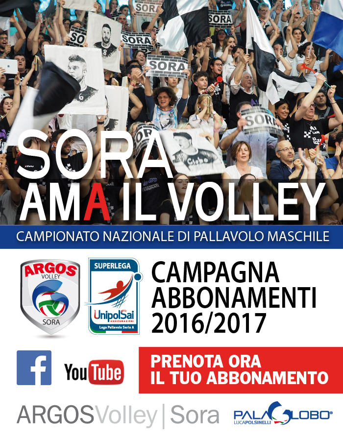 Argos Volley Sora Superlega 2016/2017