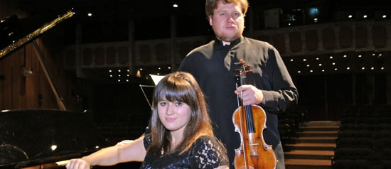 Andrey Baranov e Maria Baranova al Teatro San Carlo di Modena