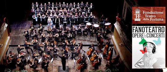 """Beethoven """"Sinfonia n. 9"""" al Teatro della Fortuna di Fano"""