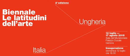 """Biennale """"Le latitudini dell'arte"""" 2edizione a Genova"""