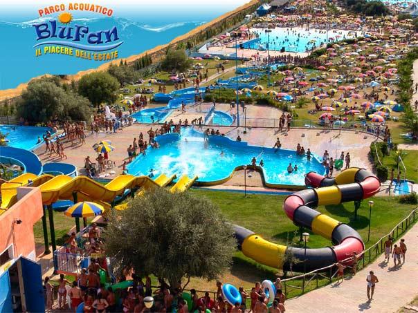 Parco Acquatico Blufan di Sarroch (Cagliari)