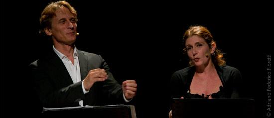 """Cesare Bocci e Daniela Scarlatti """"Parole d'amore"""" al Teatro Comunale di Treia"""