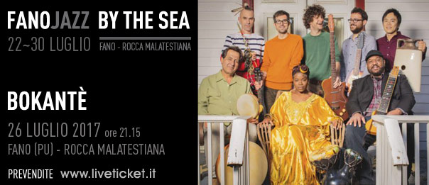 Bokantè al Fano Jazz by the Sea 2017