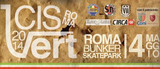 Campionato Italiano di Skateboarding al Bunker Skatepark di Roma