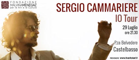 """Concerto Sergio Cammariere """"Io Tour"""" in Piazza Belvedere a Castelbasso"""