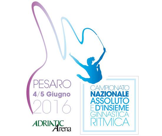 Campionato nazionale assoluto e d'insieme ginnastica ritmica a Pesaro