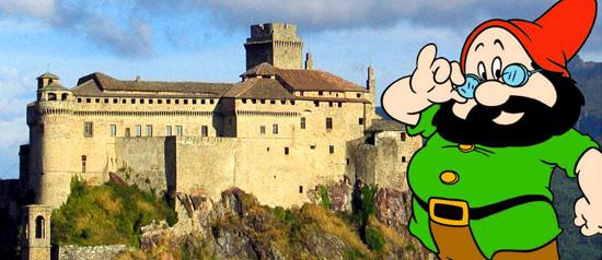 """""""Il Castello di Biancaneve"""" Evento per bambini a Bardi"""