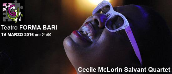 Cecile McLorin Salvant Quartet al Teatro Forma di Bari
