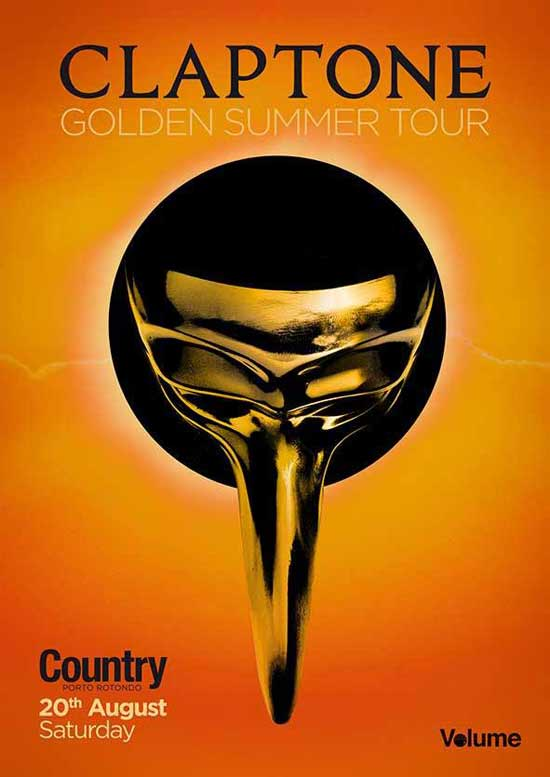 Claptone al Country Club a Porto Rotondo