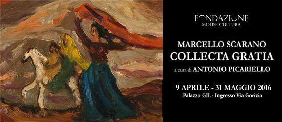 """Mostra di Marcello Scarano """"Collecta Gratia"""" a Campobasso"""