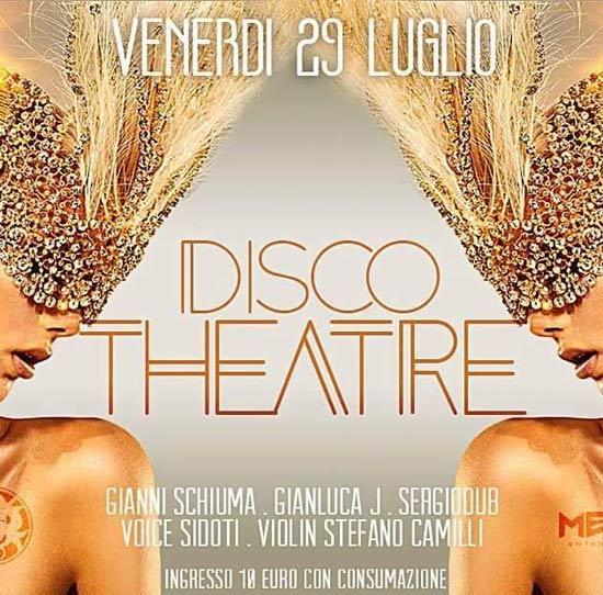 Disco Theatre ai Bagni Medusa a San Benedetto del Tronto