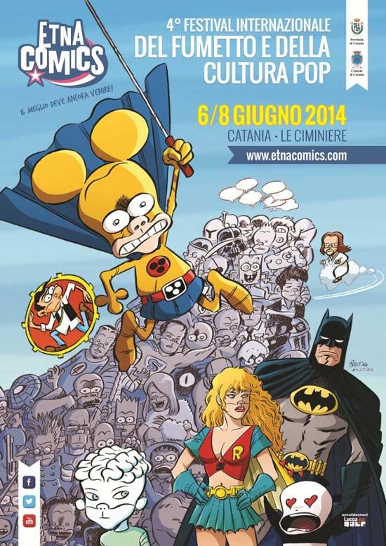 Etna Comics 2014 al Centro Fieristico Le Ciminiere di Catania