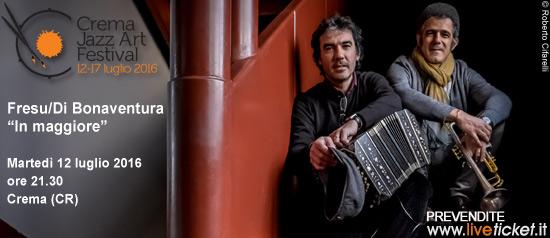 """Paolo Fresu & Daniele Di Bonaventura """"In maggiore"""""""