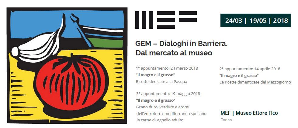 GEM - Dialoghi in Barriera al MEF Museo Ettore Fico di Torino