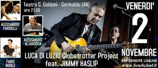 Globetrotter Project feat. Jimmy Haslip al Teatro Carlo Goldoni a Corinaldo