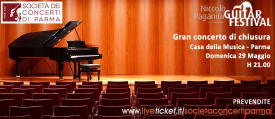 Gran concerto di chiusura del Festival Paganini a Parma