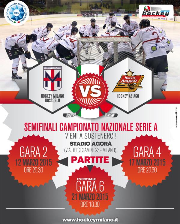 Hockey Milano Rossoblu Semifinali