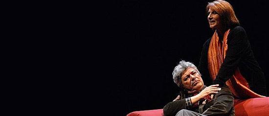 "Paola Pitagora e Roberto Alpi in ""Honour"""