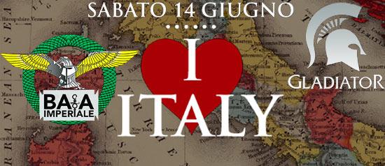 I love Italy  @Baia Imperiale