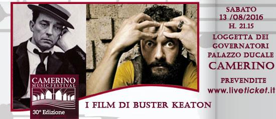 I film di Buster Keaton al Camerino Music Festival