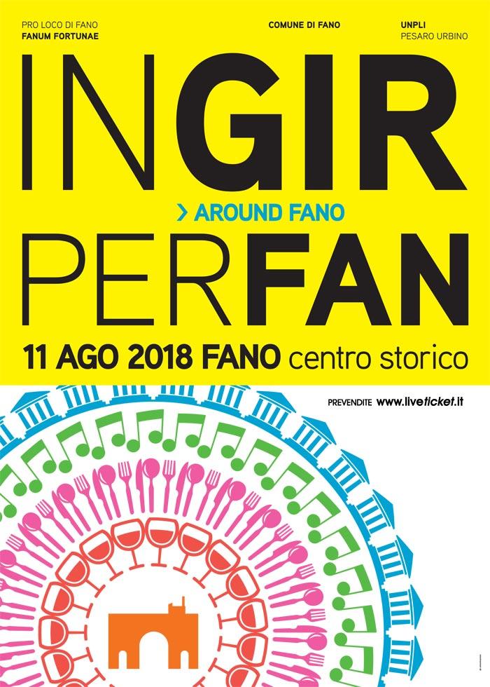AroundFano - IngirperFan 2018 al Centro Storico di Fano