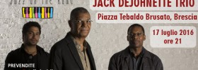 Festival JOTR 2016 Jack DeJohnette Trio a Brescia