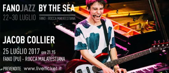 Jacob Collier al Fano Jazz by the Sea 2017