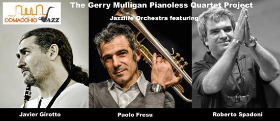 """Jazzlife Orchestra special guests Paolo Fresu e Javier Girotto"" al Comacchio Jazz Festival"