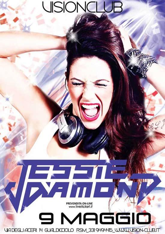 Jessie Diamond @ VisionClub San Marino