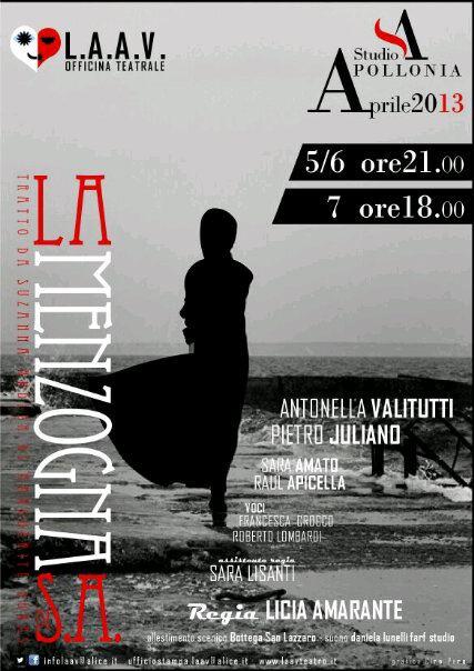 La Menzogna di Suzanne A. al Teatro Sudio Apollonia di Salerno