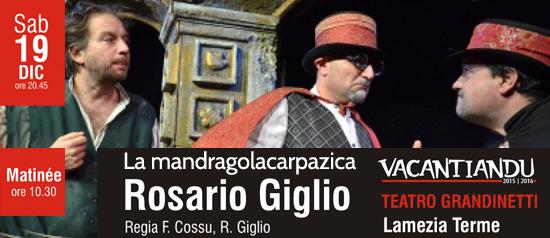 La Mandragolacarpazica al Teatro Grandinetti di Lamezia Terme