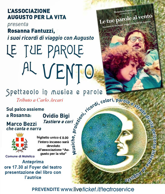 Le tue parole al vento al Teatro Piermarini di Matelica