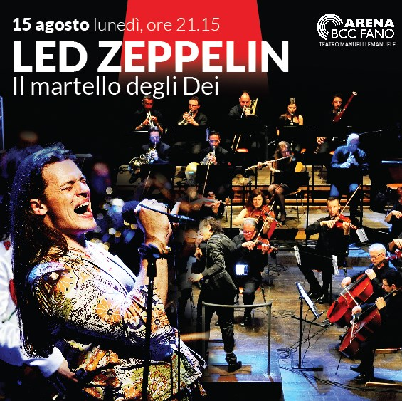 "Rossini Pop Orchestra ""Led Zeppelin - Il martello degli Dei"" all'Arena BCC a Fano"