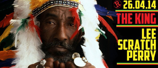 Lee Scratch Perry al Rising Love di Roma