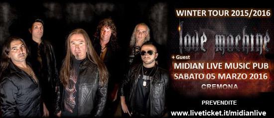 Love Machine + guest al Midian Live Pub di Cremona